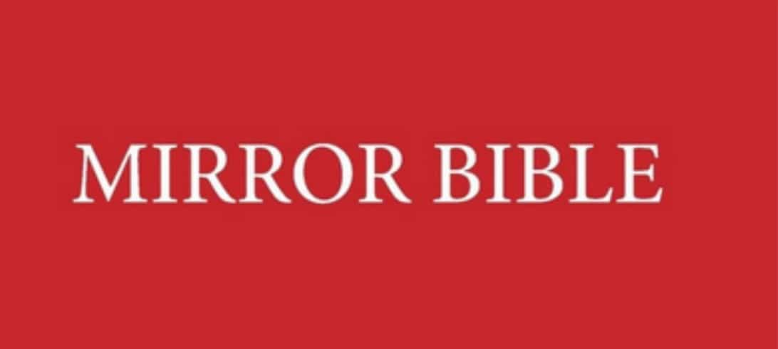 The Mirror Bible by Francois Du Toit is now available for sale