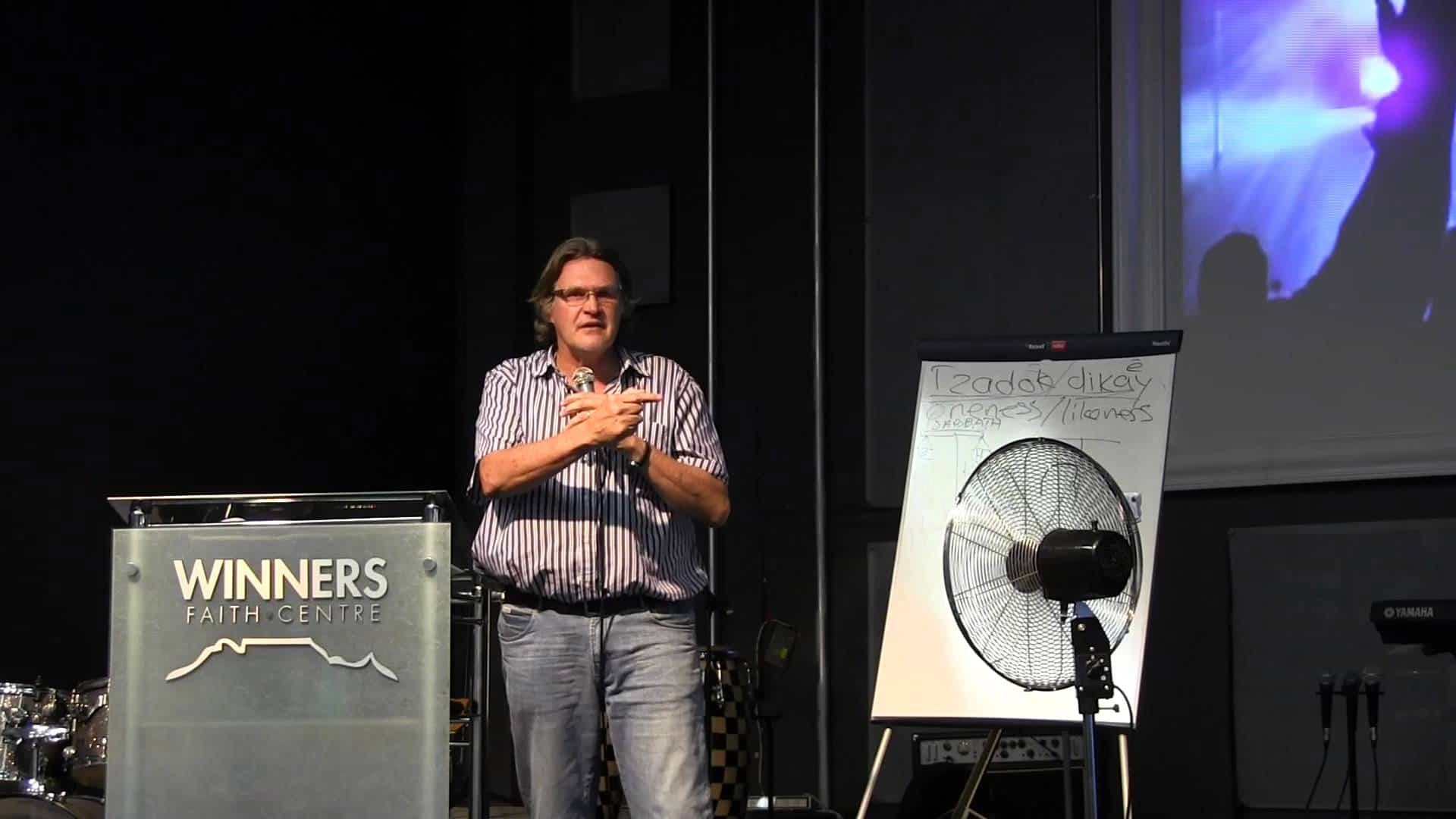 20140115 Wordschool Session 11 – You are God's joy, Francois du Toit