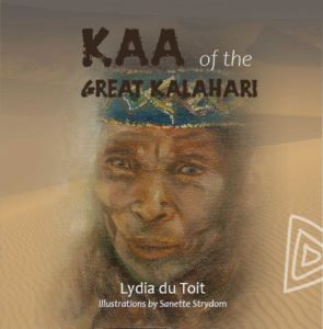 Cover of KAA of the Great Kalahari by Lydia du Toit